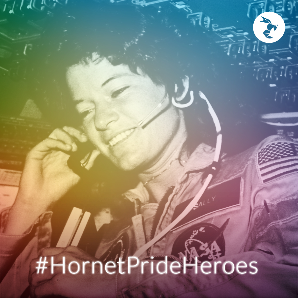 Hornet Pride Heroes sally ride