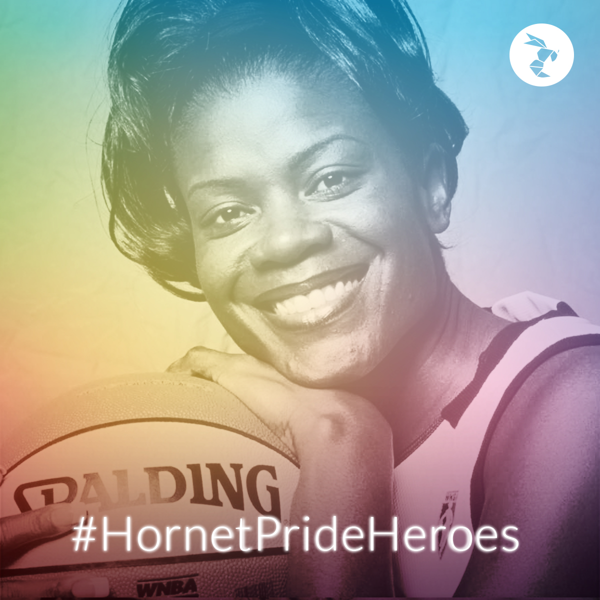 Hornet Pride Heroes sheryl swoopes