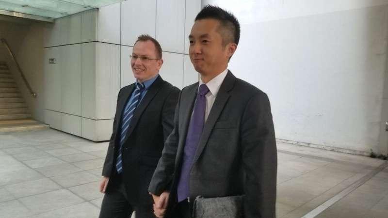 Hong Kong eşcinsel evliliği 05 Hong Kong Mahkemesinin Gay