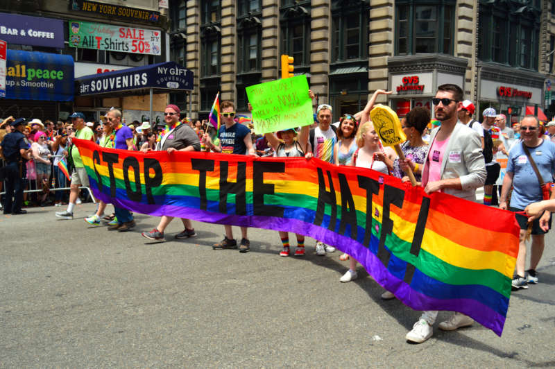 pride footwear march 2 LGBT community growth