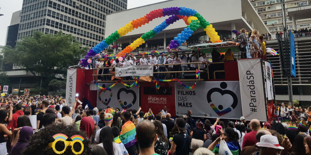 The 22nd Annual Pride Celebration in São Paulo May Have Just Been the World's Largest