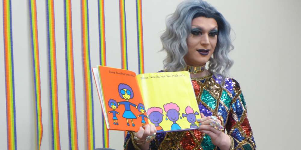 This Pride Month Drag Story Hour Event Is Getting Trolled Hard by Right-Wing Jerks