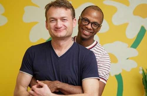 Europe gay marriage 01, Adrian Coman 01, Claibourn Robert Hamilton 01