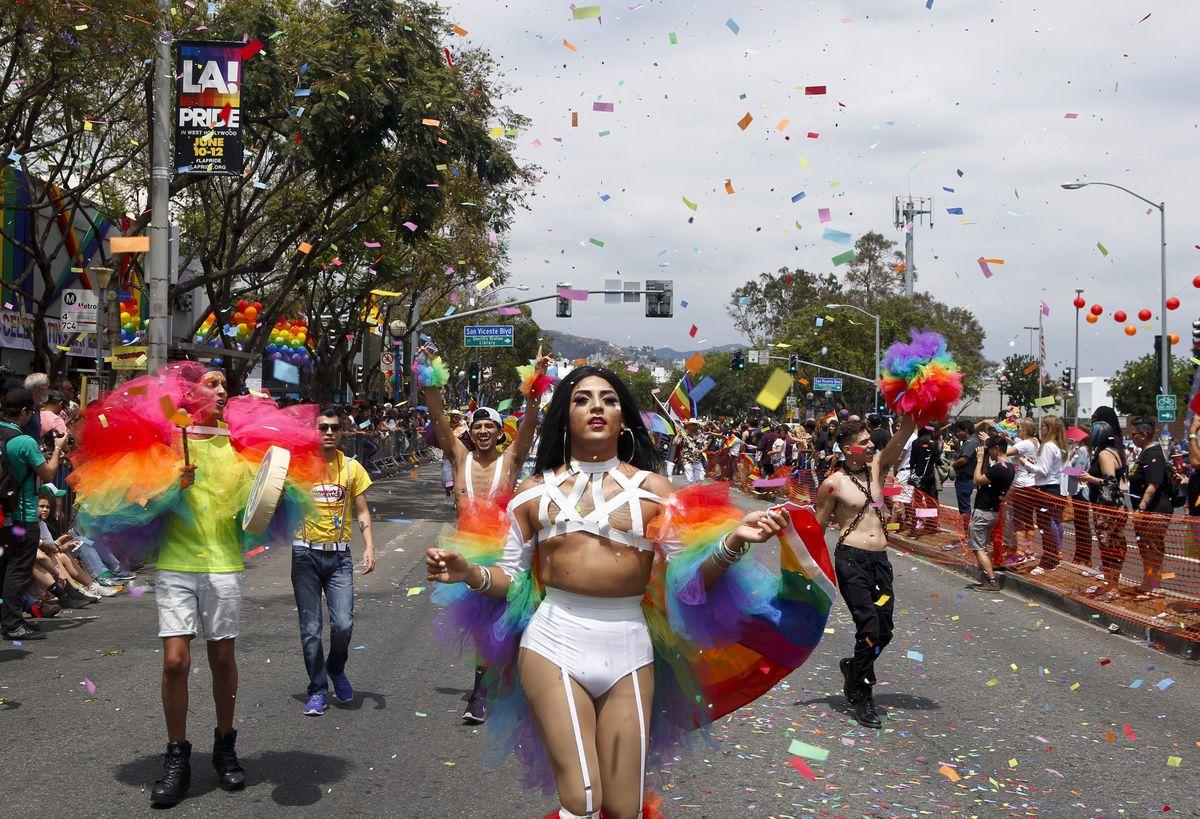 L.A. Pride 2018 parade