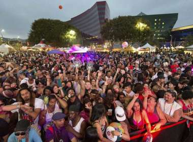 L.A. Pride Shut Down L.A. Pride 2018 crowd la pride shutdown
