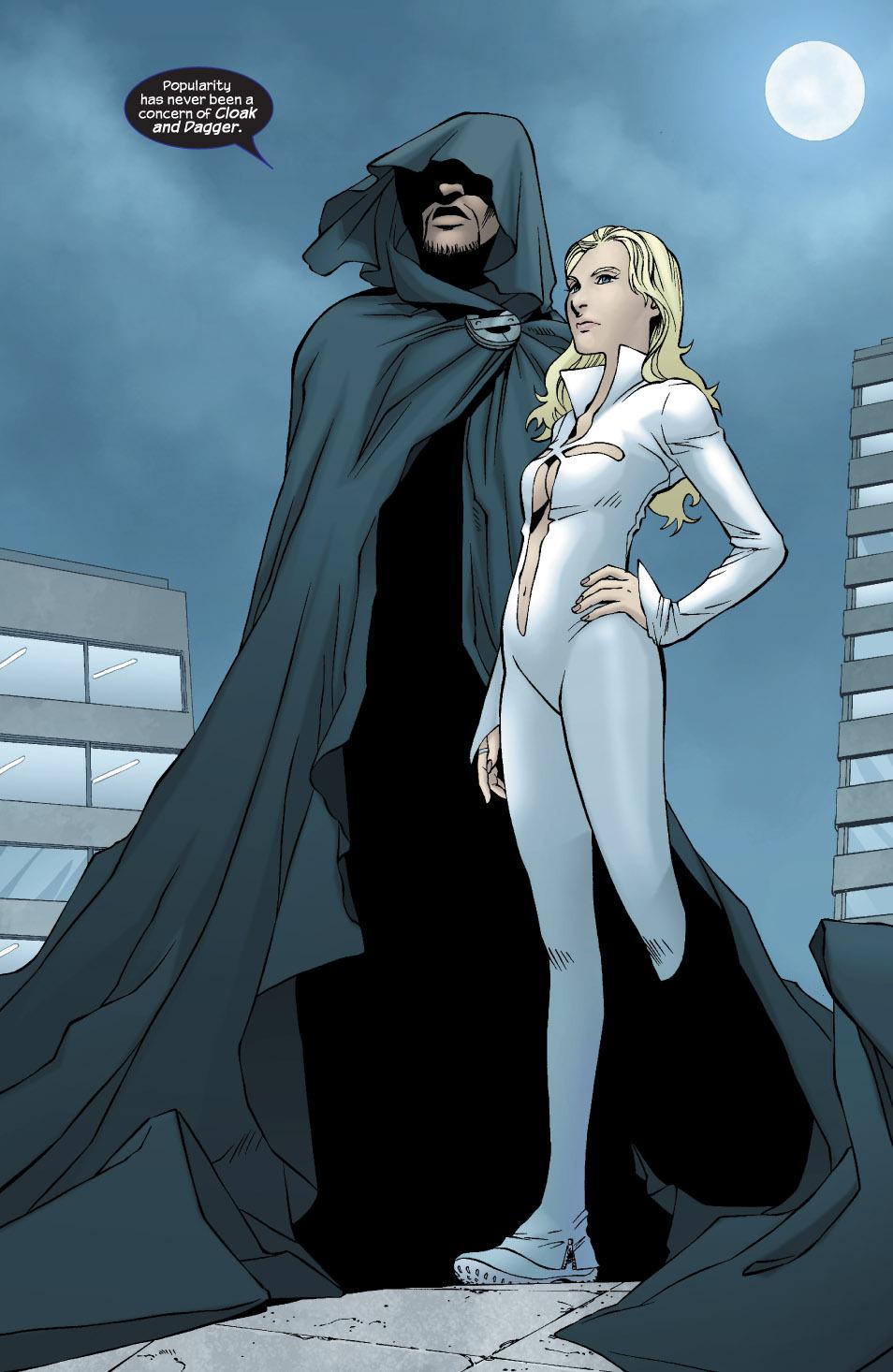 Cloak & Dagger comic