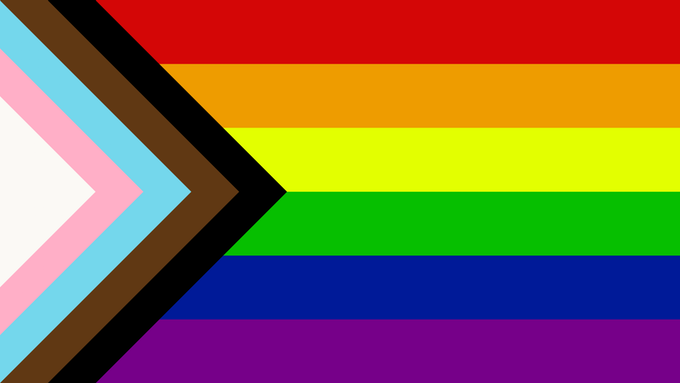 The Progress Pride Flag (2018) homophobic baker