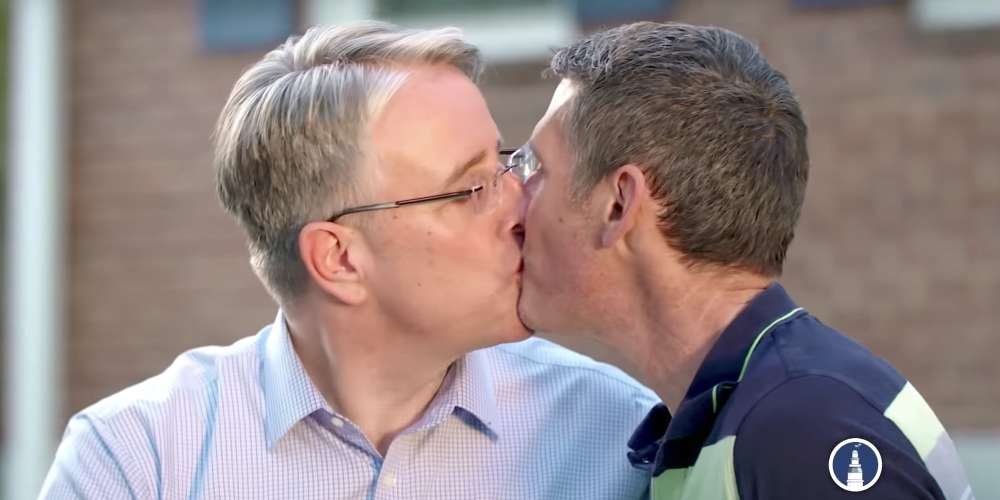 Watch This Maryland Candidate Kiss His Husband in a Campaign Ad to 'Piss Off' Trump