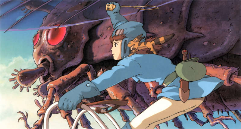 Nausicaa of the Valley of the Wind inline