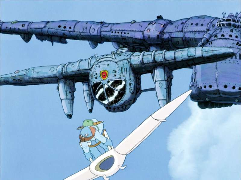Nausicaa of the Valley of the Wind airship