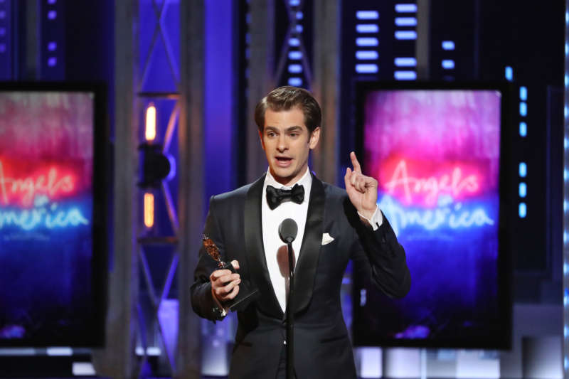 andrew garfield tony winners