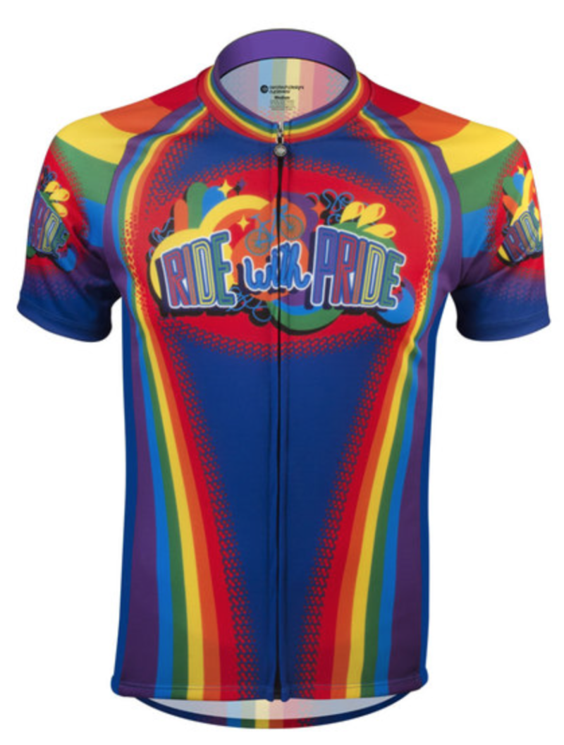 pride products cycling jersey