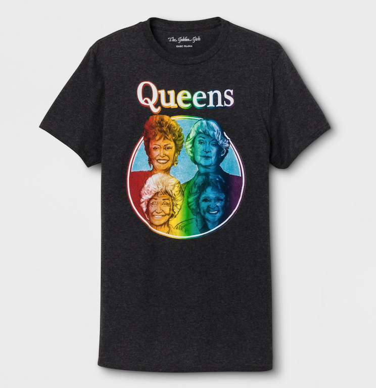 pride products target golden girl tee shirt