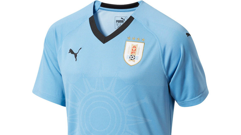 World Cup jerseys 06, World Cup kits 06, Uruguay