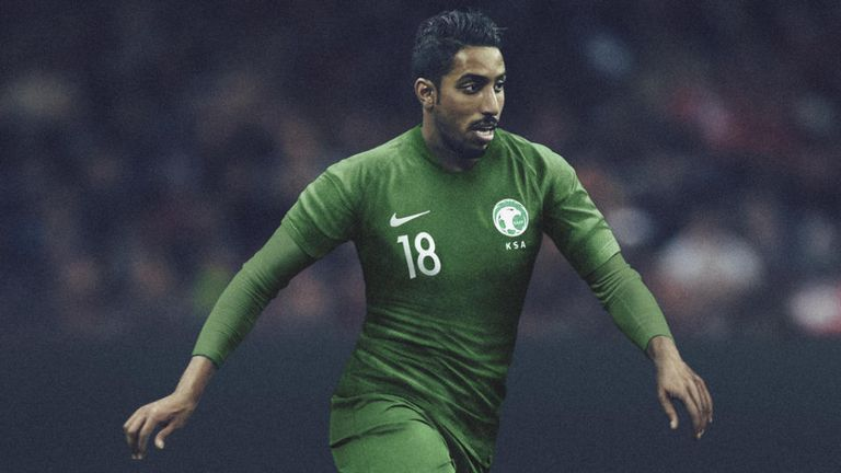 World Cup jerseys 04, World Cup kits 04, Saudi Arabia เสื้อนักกีฬาฟุตบอลโลก