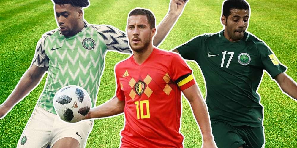 เสื้อนักกีฬาฟุตบอลโลก feat