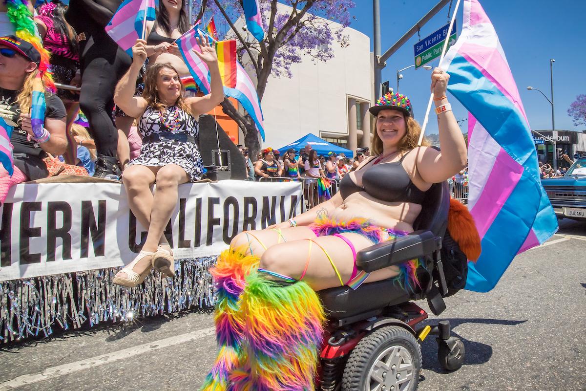 L.A. pride pics parade