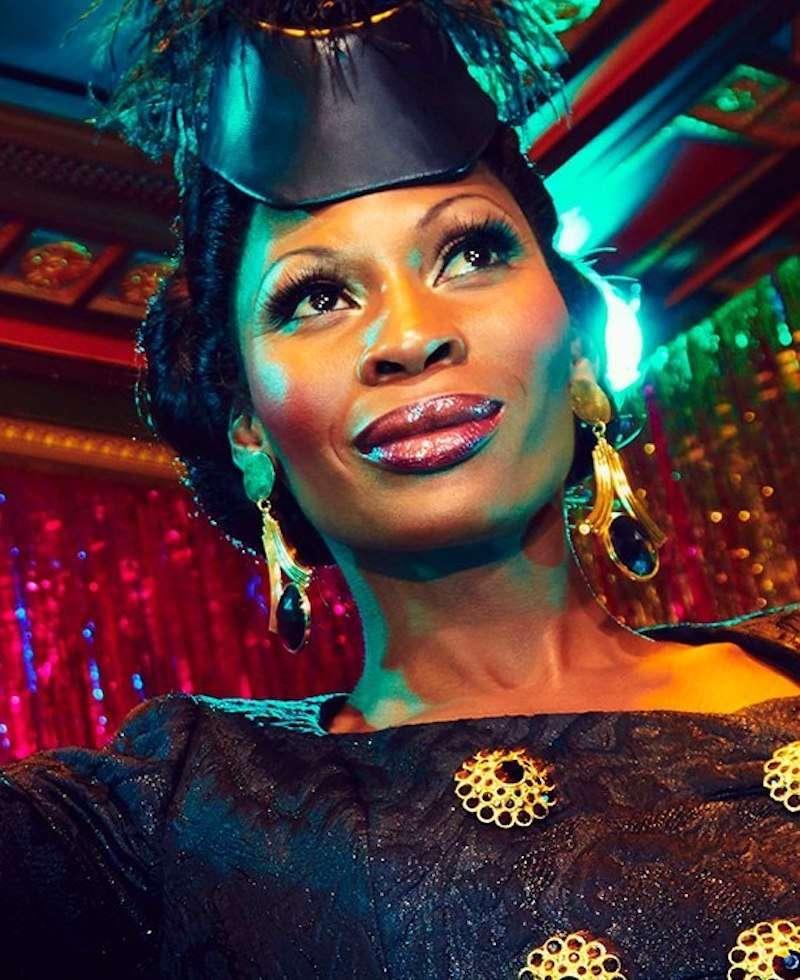Pose trans actresses 02, Dominique Jackson, Elektra Abundance