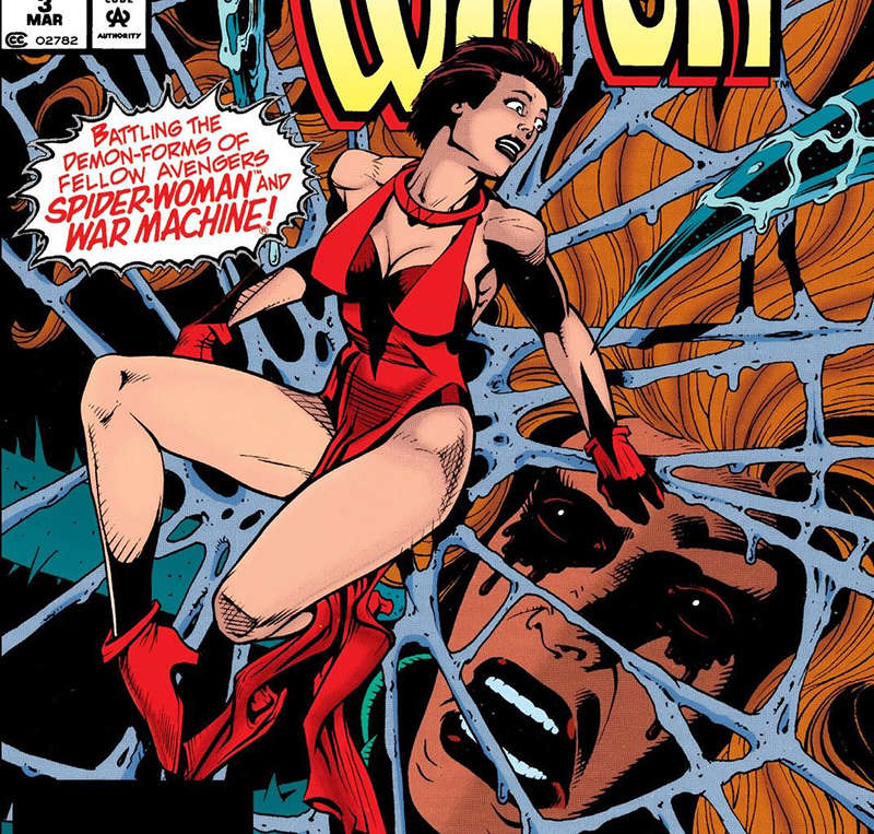 female superhero costumes scarlet witch