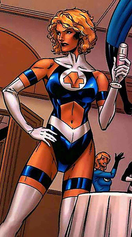 female superhero costumes invisible woman