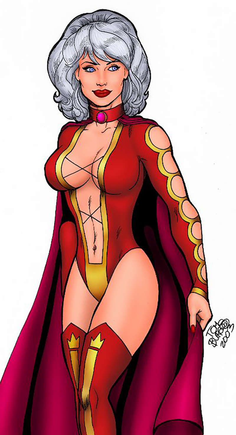 female superhero costumes princess projectra