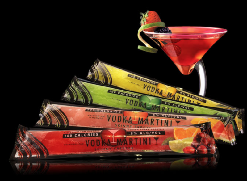 current obsessions vodka martini popsicles