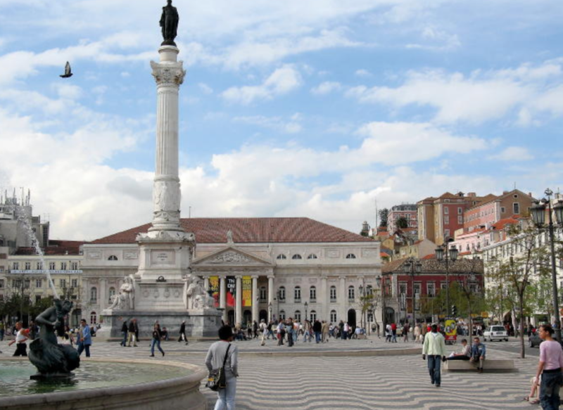 gay lisbon hornet guide rossio square