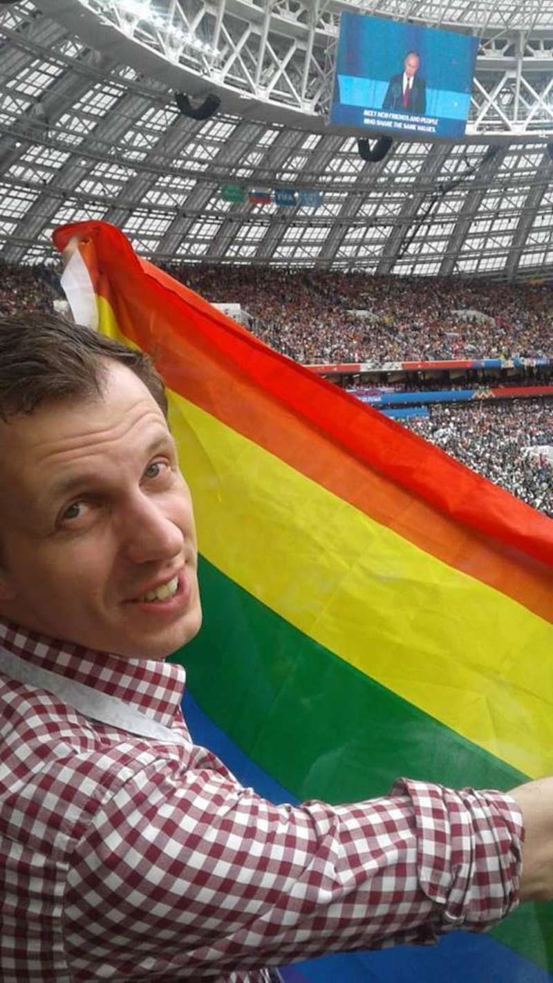 English Football Association 02, Aleksandr Agapov, Russian LGBT Sport Federation