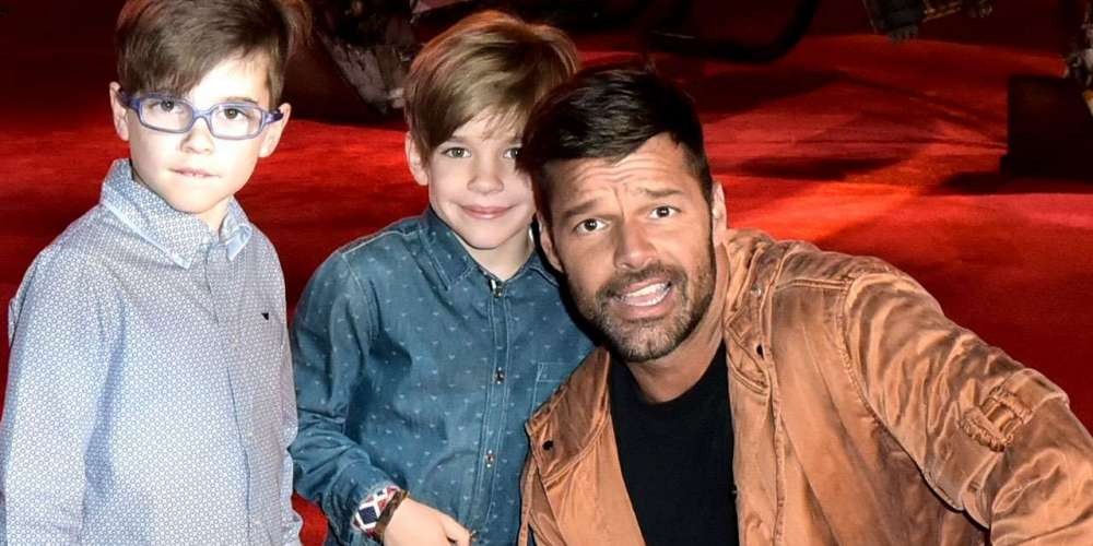 In New Interview Ricky Martin Reveals He Hopes His Children Are Gay
