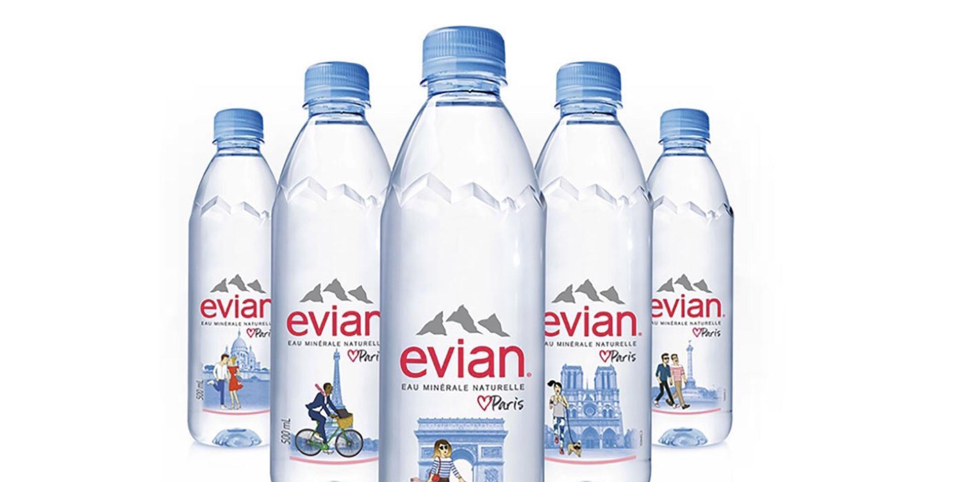 Un visuel gay-friendly sur une bouteille d'Evian fait disjoncter les homophobes