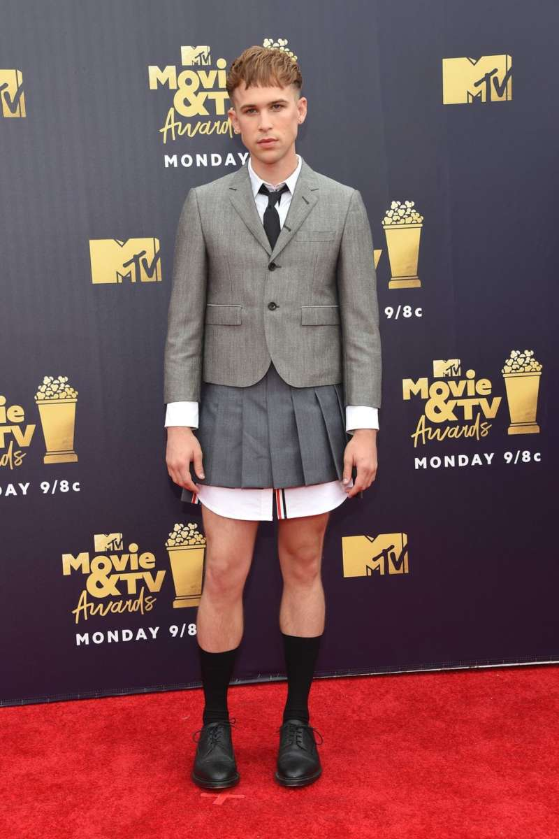 mtv movie and tv awards red carpet timothy dorfman