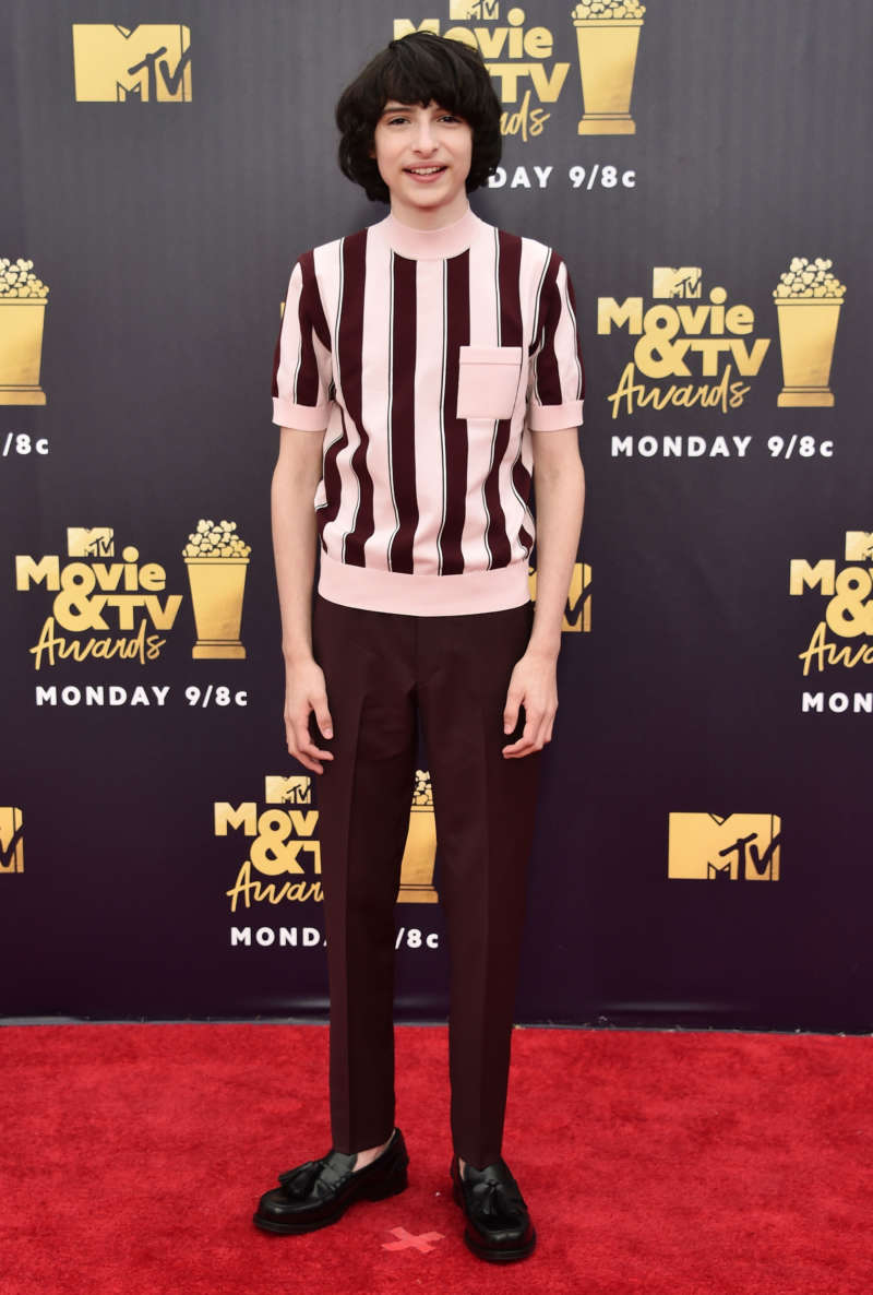 mtv movie and tv awards red carpet finn wolfhard