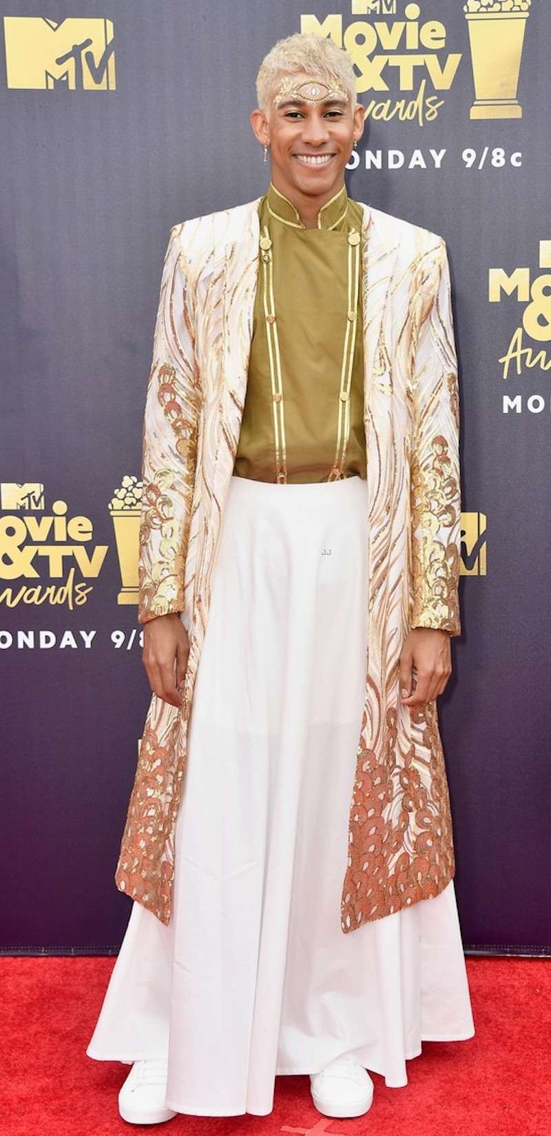 mtv movie and tv awards red carpet keilynan londsdale