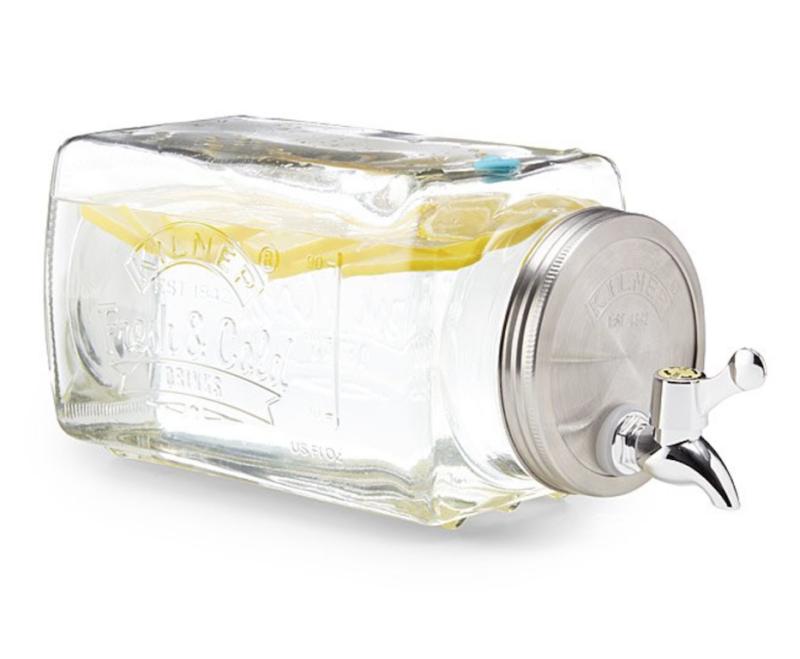 pool party essentials mason jar water dispenser