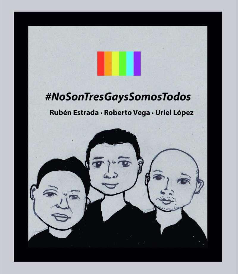 no son tres gays somos todos