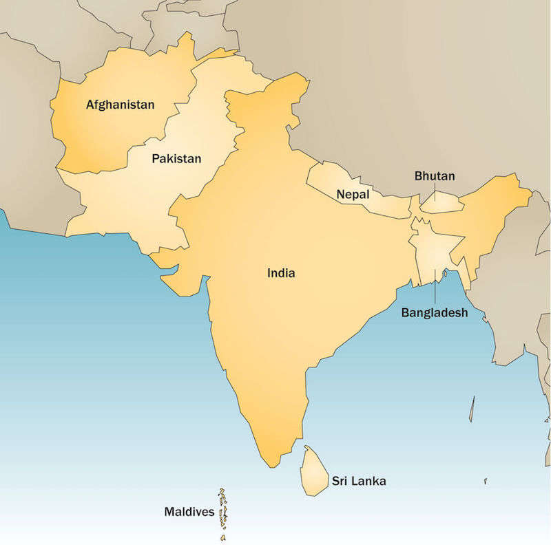 South Asia 15