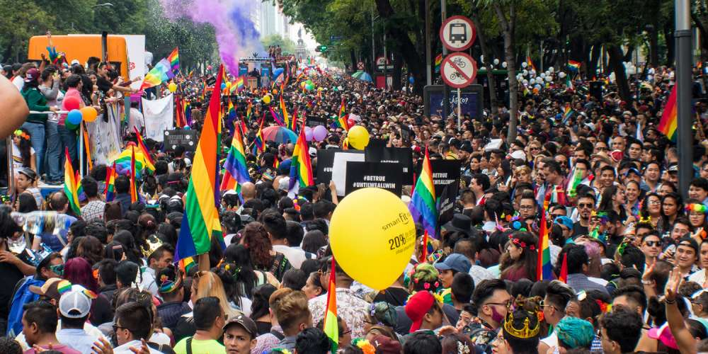 15 Photos From the 40th Anniversary of Mexico City Pride After a World Cup Win