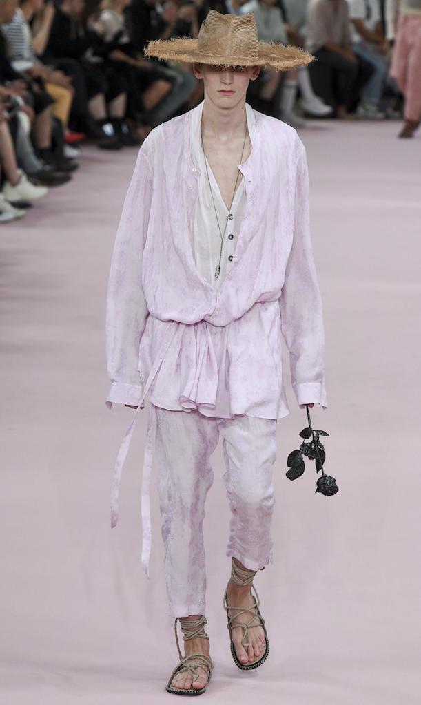 spring 2019 menswear ann Demeulemeester