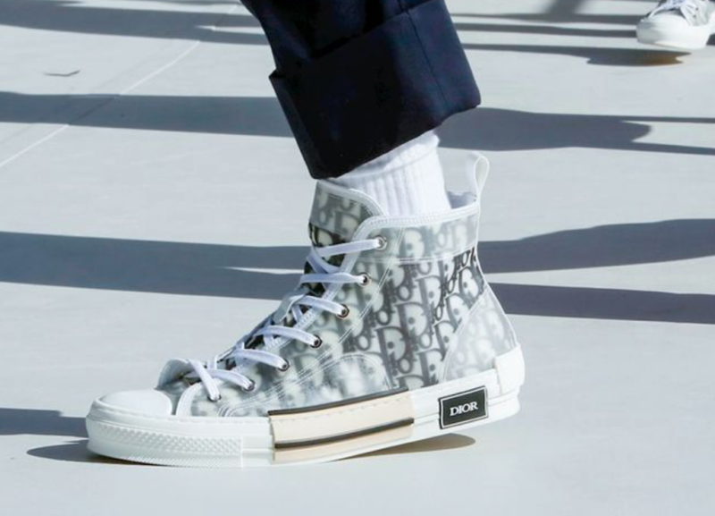 spring 2019 menswear dior sneakers