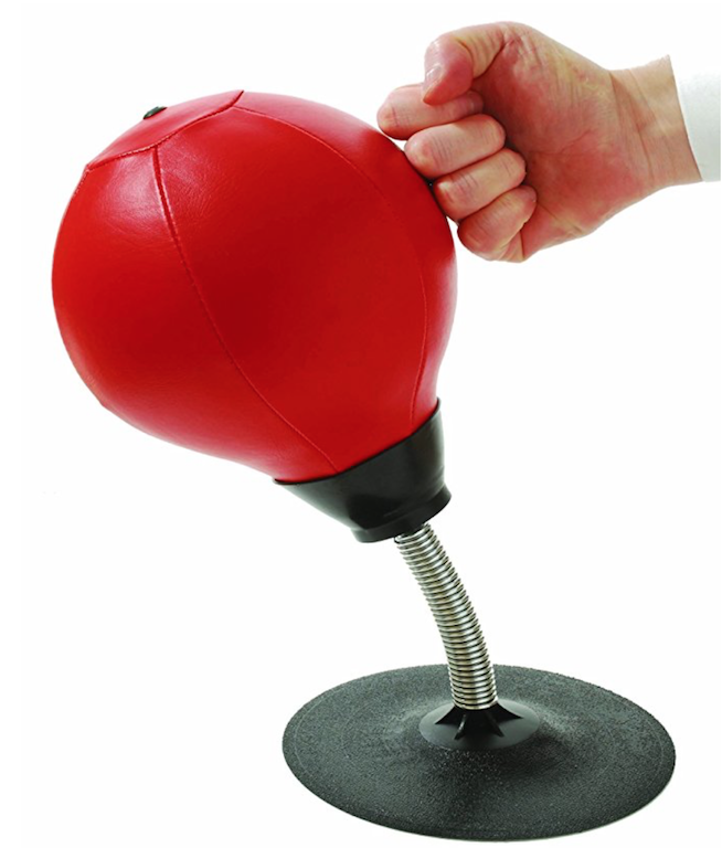 stress relief punch bag