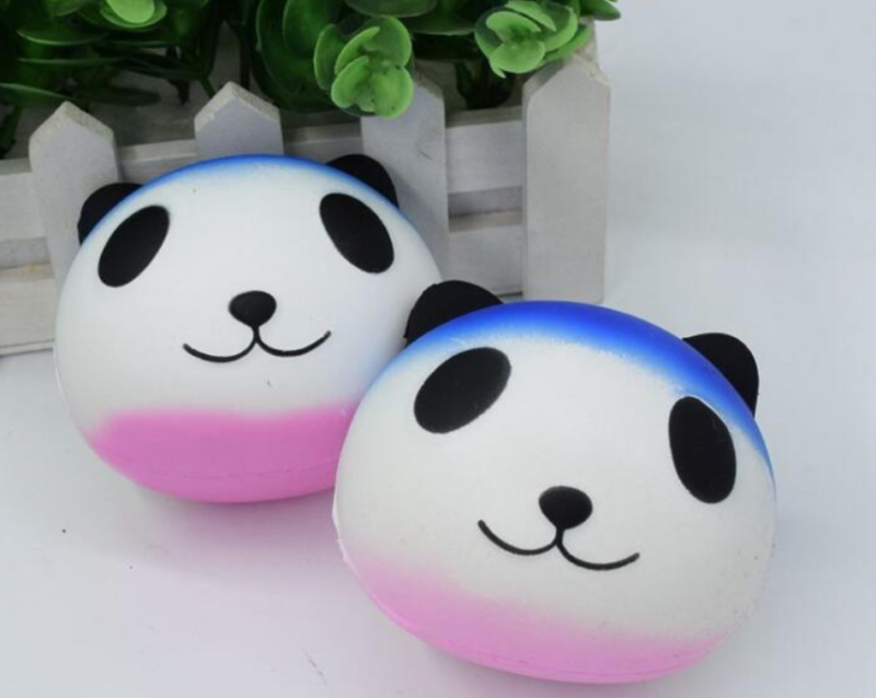 stress relief panda squeeze ball