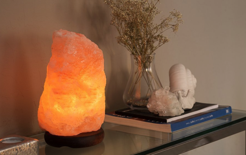 stress relief himalayan salt rock lamp
