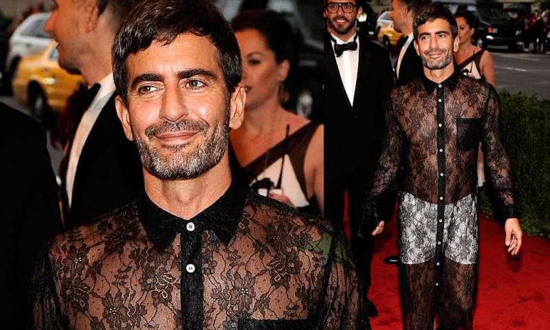 male celebs wearing dresses