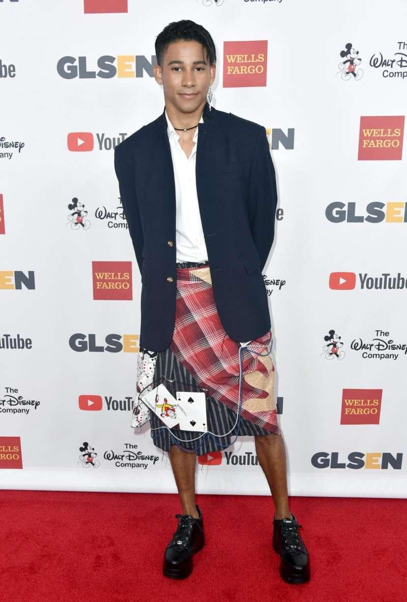keiynan lonsdale male celebs who wear dresses