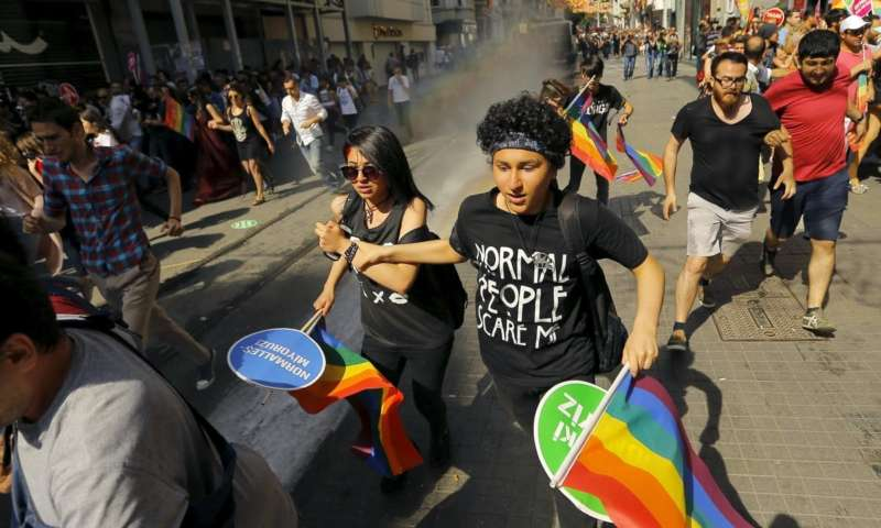 pride march in istanbul