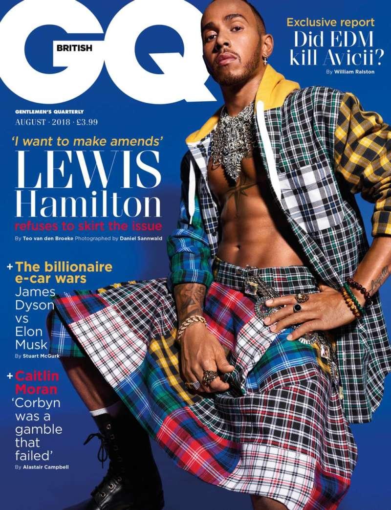 lewis hamilton gq cover