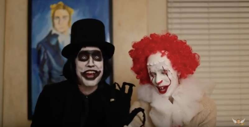 Enemies of Dorothy 07, Babadook, Pennywise, gay married