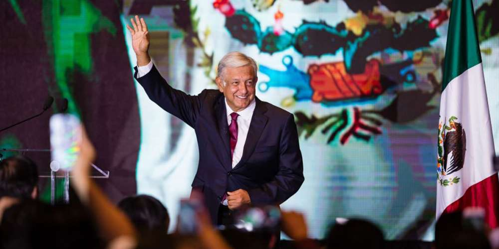 AMLO Just Made History by Mentioning LGBTs in His First Speech as Mexico's President