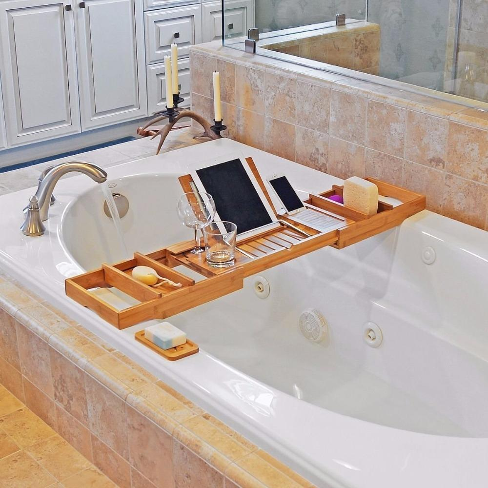 stress relief essentials bathtub caddy