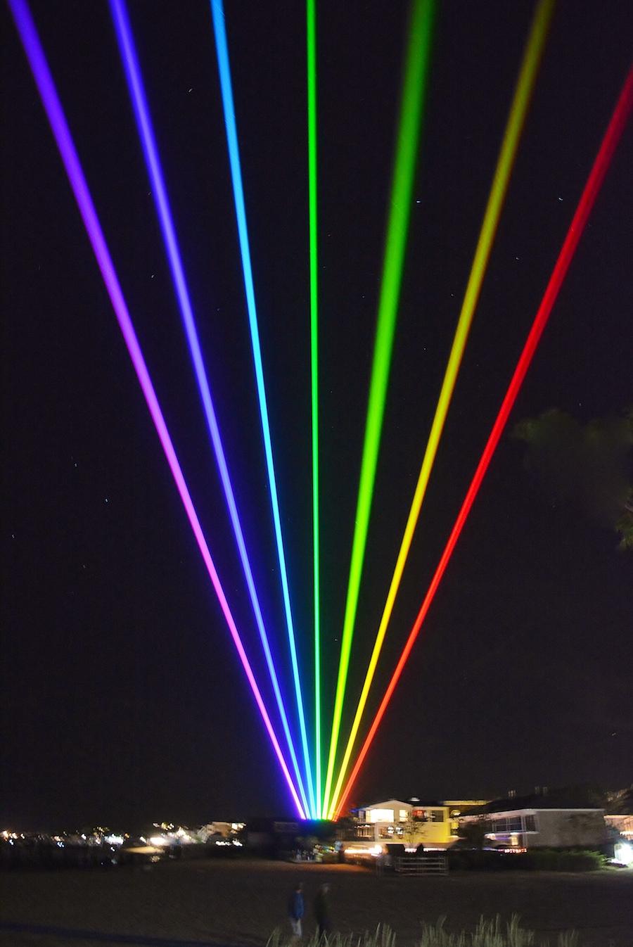 provincetown pride photos lights